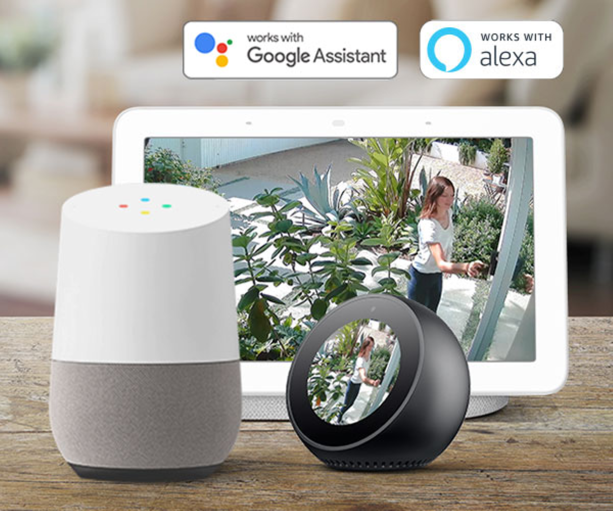Swann Spotlight Security Camera - Voice Assistant Support