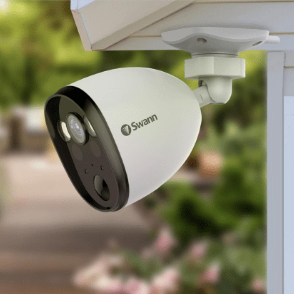 Swann Wi-Fi Spotlight Outdoor Security Camera