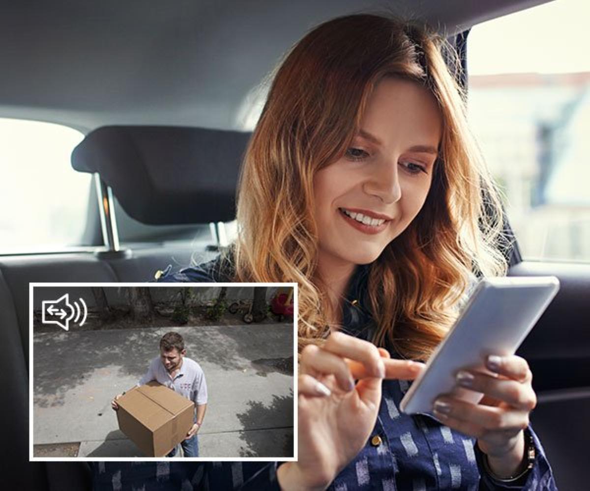 Swann Spotlight Security Camera - 2-Way Talk System