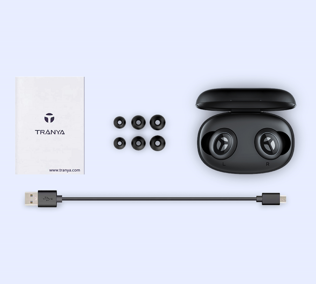Tranya Rimor Bluetooth Earphones, Tranya Rimor Wireless Earbuds Review