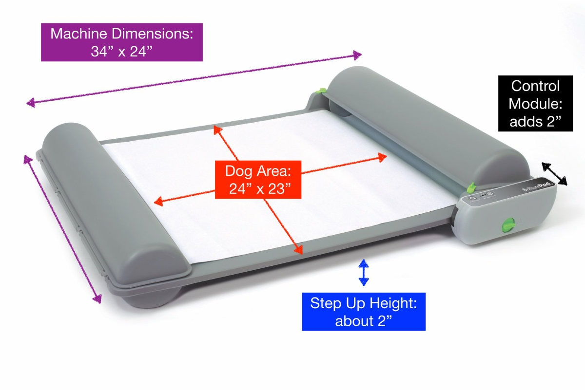 BrilliantPad 2.0 - Measurements