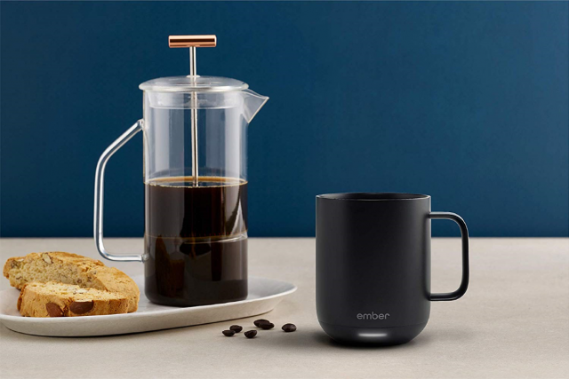 Ember Mug 2 battery heated coffee mug