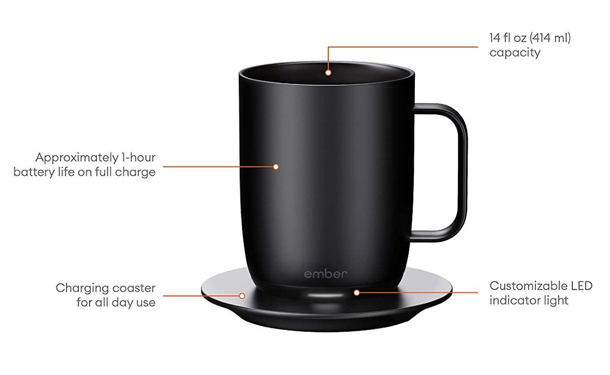 Ember Mug 2 - Mug and Charging Coaster
