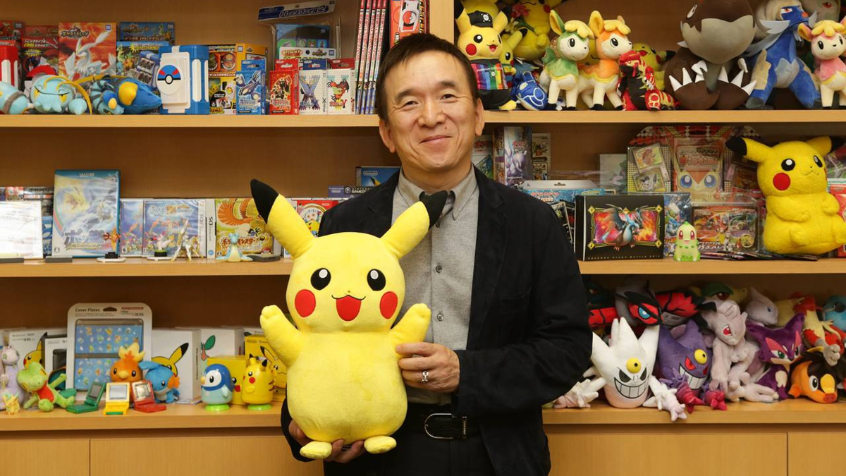 Facebook Gaming launched two Pokémon Games - Pokémon Company CEO Tsunekazu Ishihara