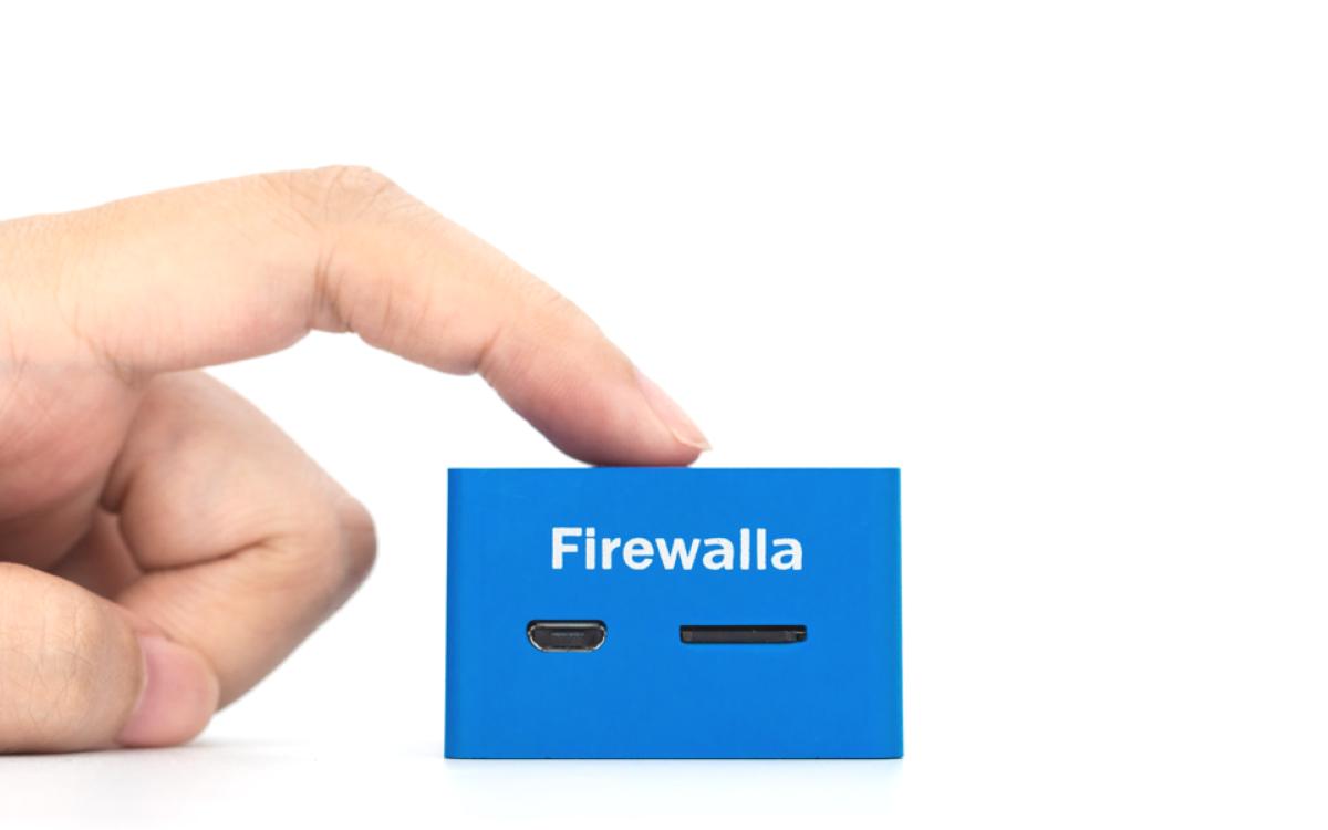 FirewallaBlue - Design & Size