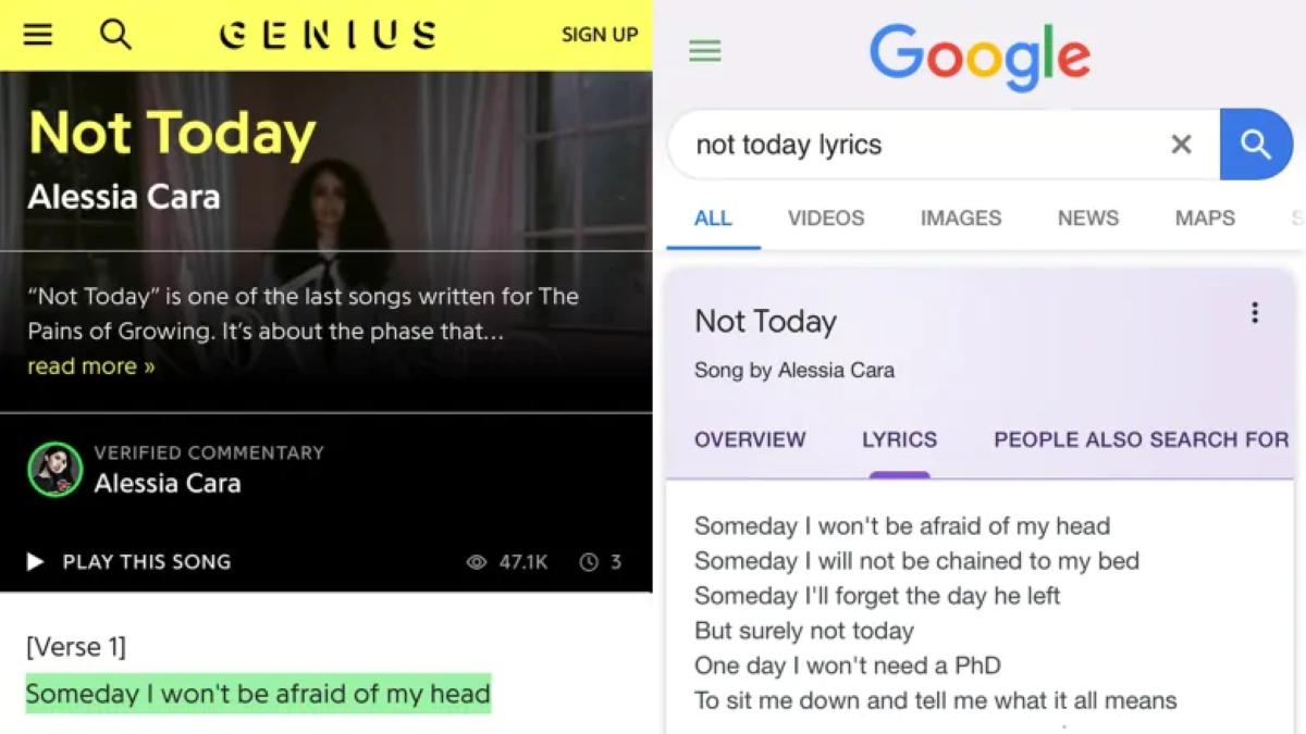 Genius Media is suing Google