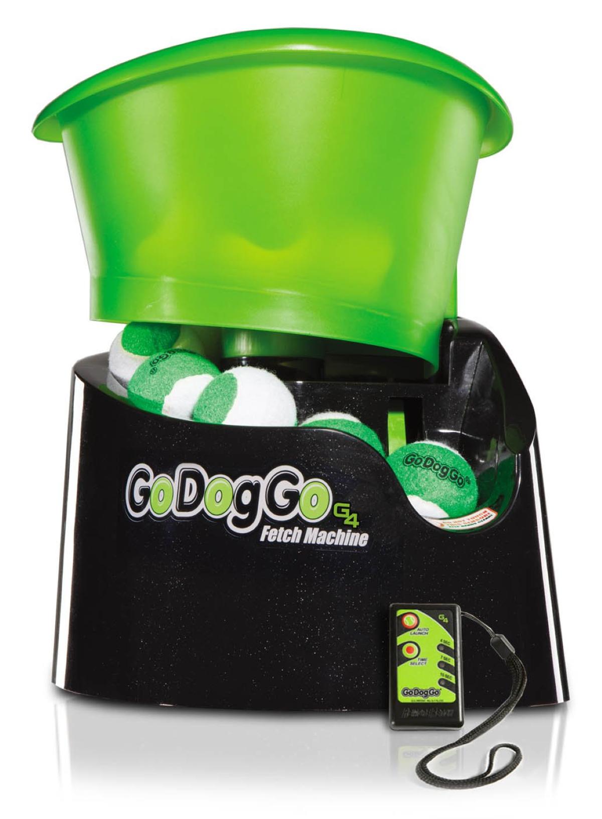 GoDogGo Fetch G4 - Box Contents (G4 Unit + Remote)