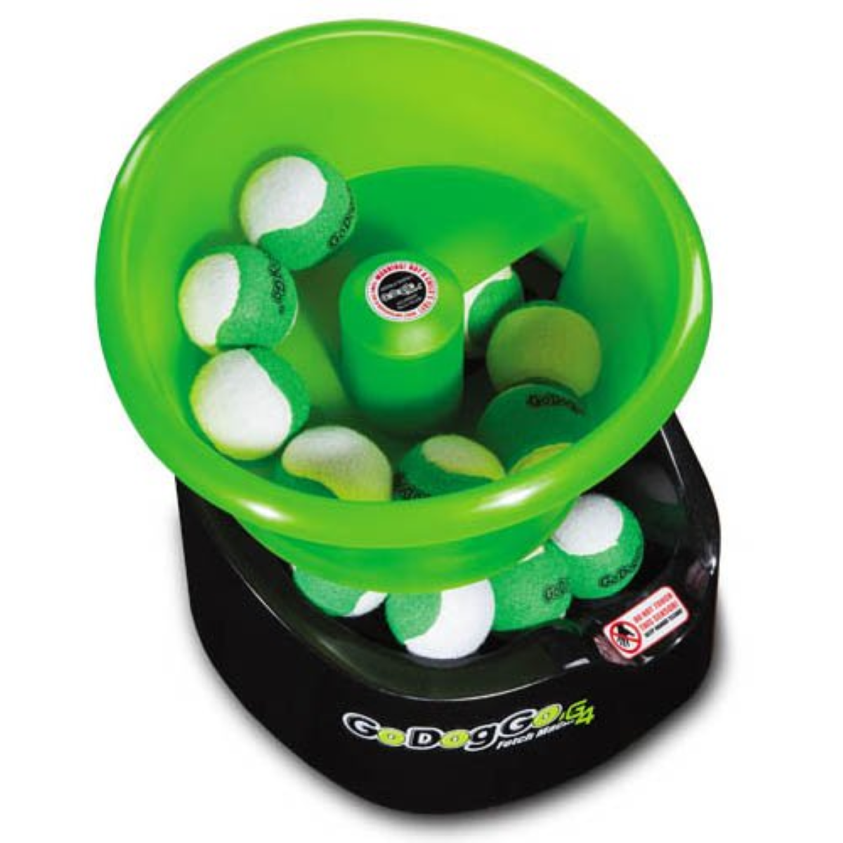 GoDogGo Fetch G4 Automatic Dog Ball Thrower - Multiple Ball Support (1 to 25 balls - depends on size)