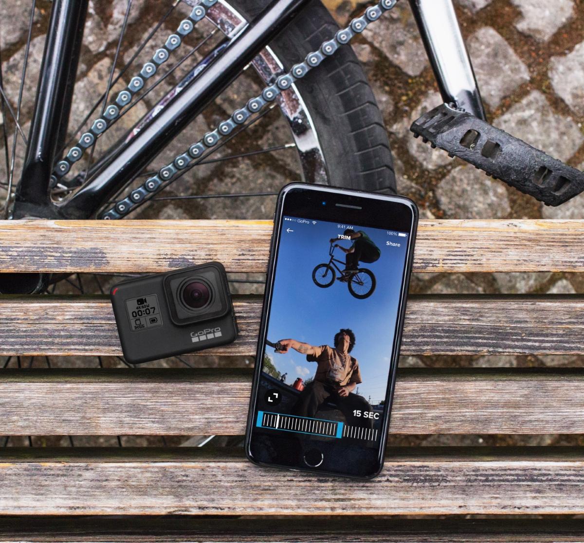 GoPro Action Camera Hero 7 Black - File Transfering (Smartphone)