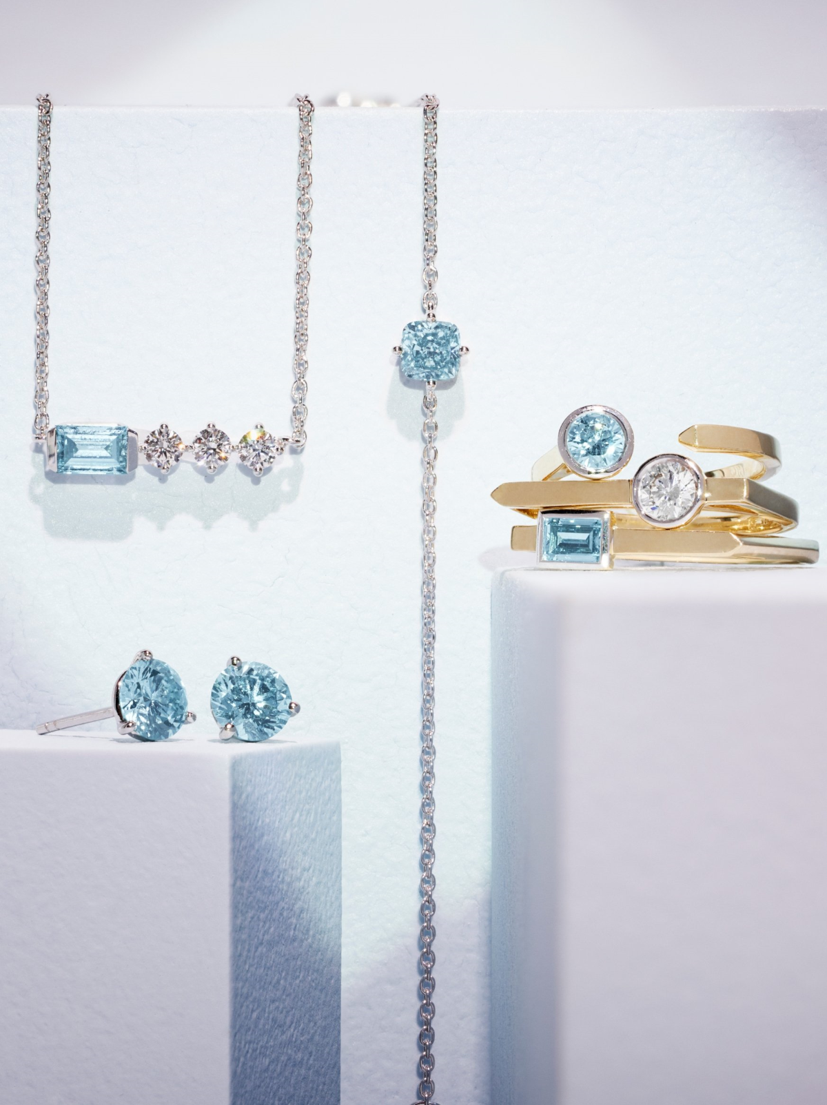 Lightbox Diamond Jewelry Collections - Blue Moon Collection