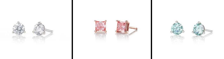 Lightbox Diamond Earrings