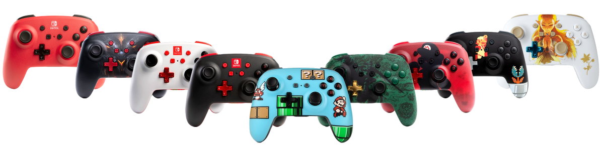 PowerA Enhanced Wireless Controller - 9 Different Color Models