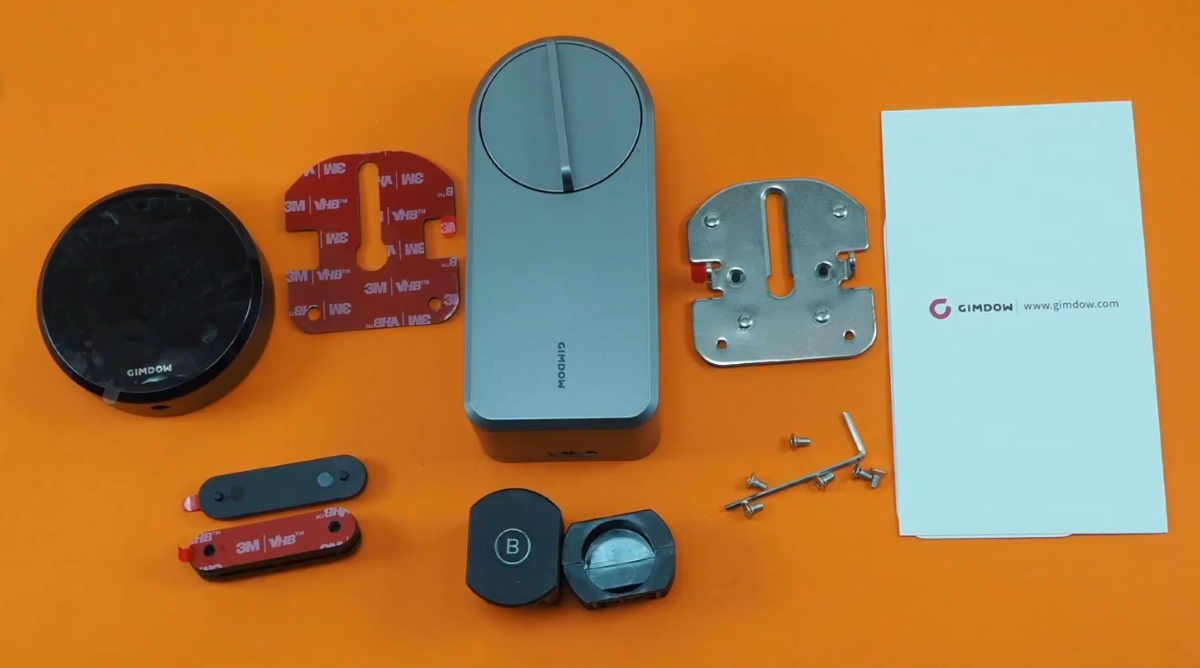 Gimdow Smart Lock - Box Contents (1)