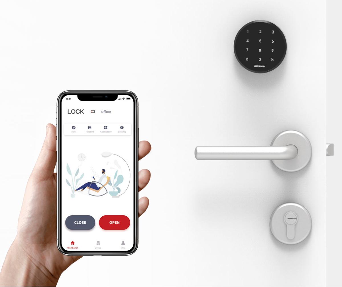 Gimdow Smart Door Locks - Full Acess Control