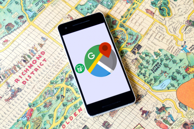 Google Maps Improved Charging Stations Search Options