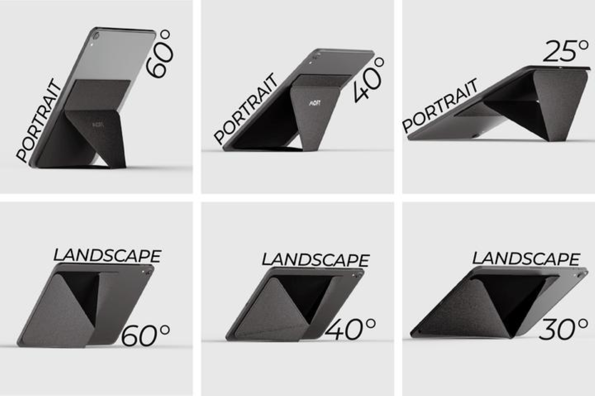 MOFT X Tablet Stand - Multiple Viewing Angles