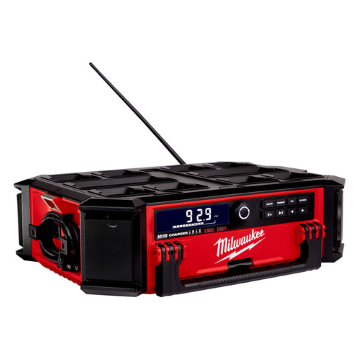 M18 PACKOUT Radio & Charger - Powerful Internal Antenna