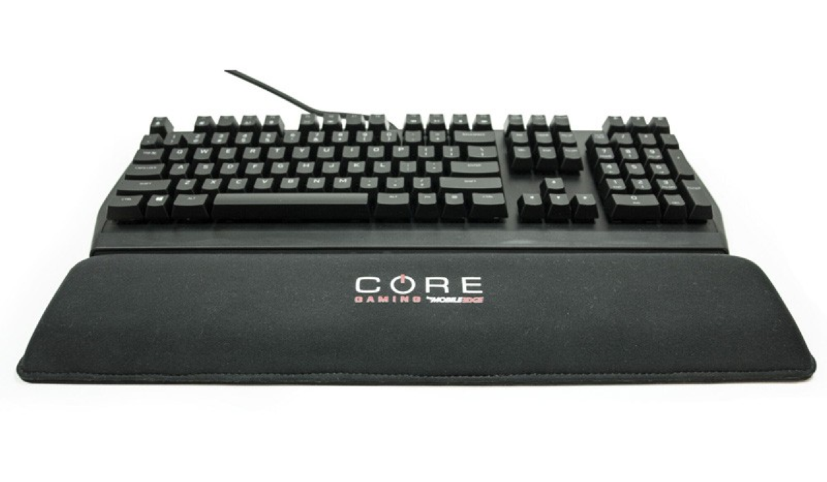 Core Gaming Gel Wrist Rest - Comfortable and Durable