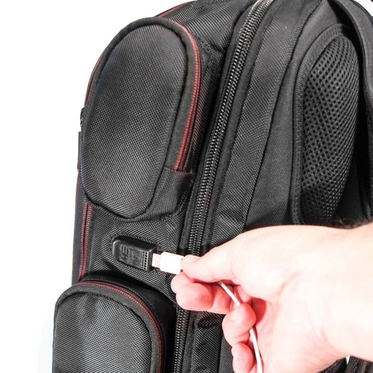 Core Gaming Backpack - External Built-In USB ChargePort