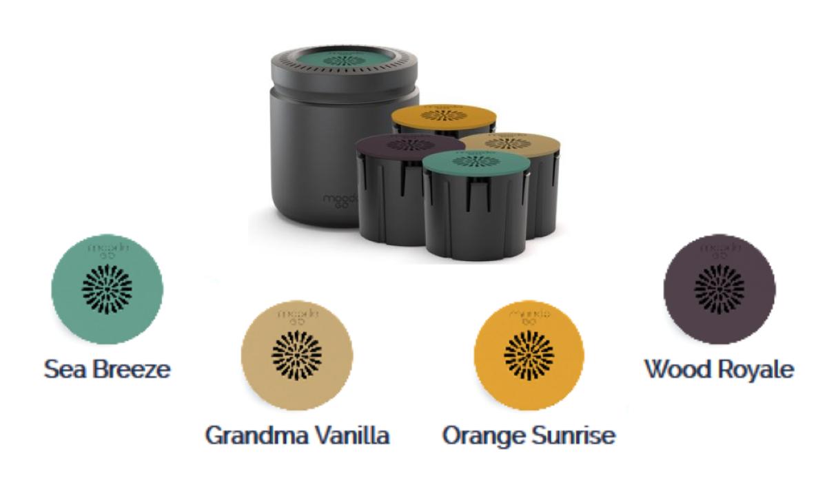 MoodoGo Portable Aroma Diffuser
