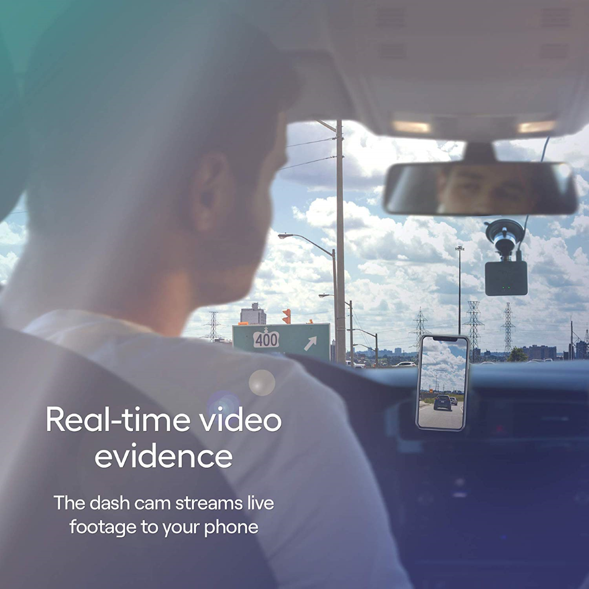 Nexar Beam - Instant Evidence via the Nexar App (Live Recording)