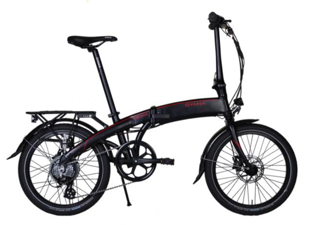OYAMA CXE8D Series II Folding Electric Bike