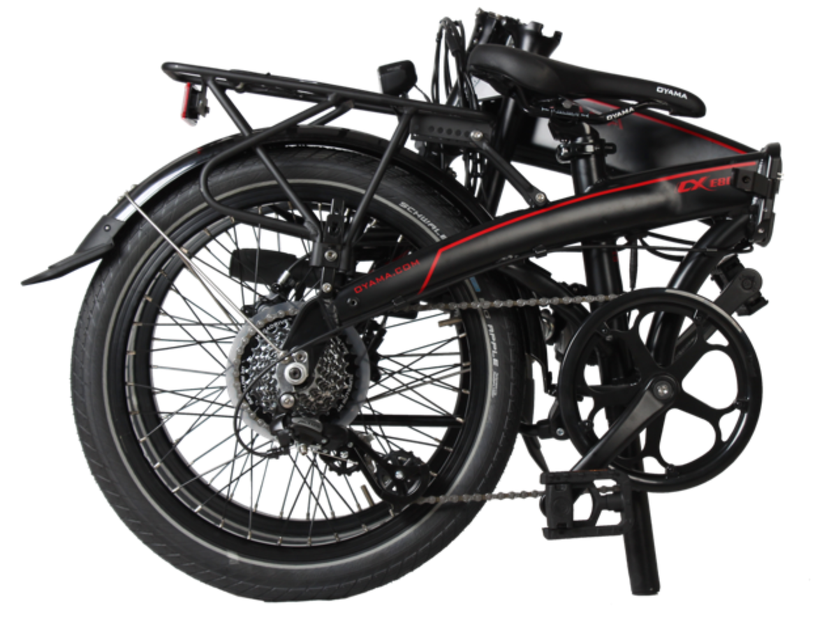OYAMA CXE8D Series II - Foldable Design