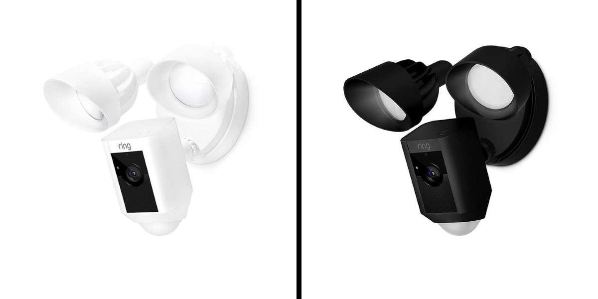 Ring Floodlight Security Camera - 2 Different Color Models
