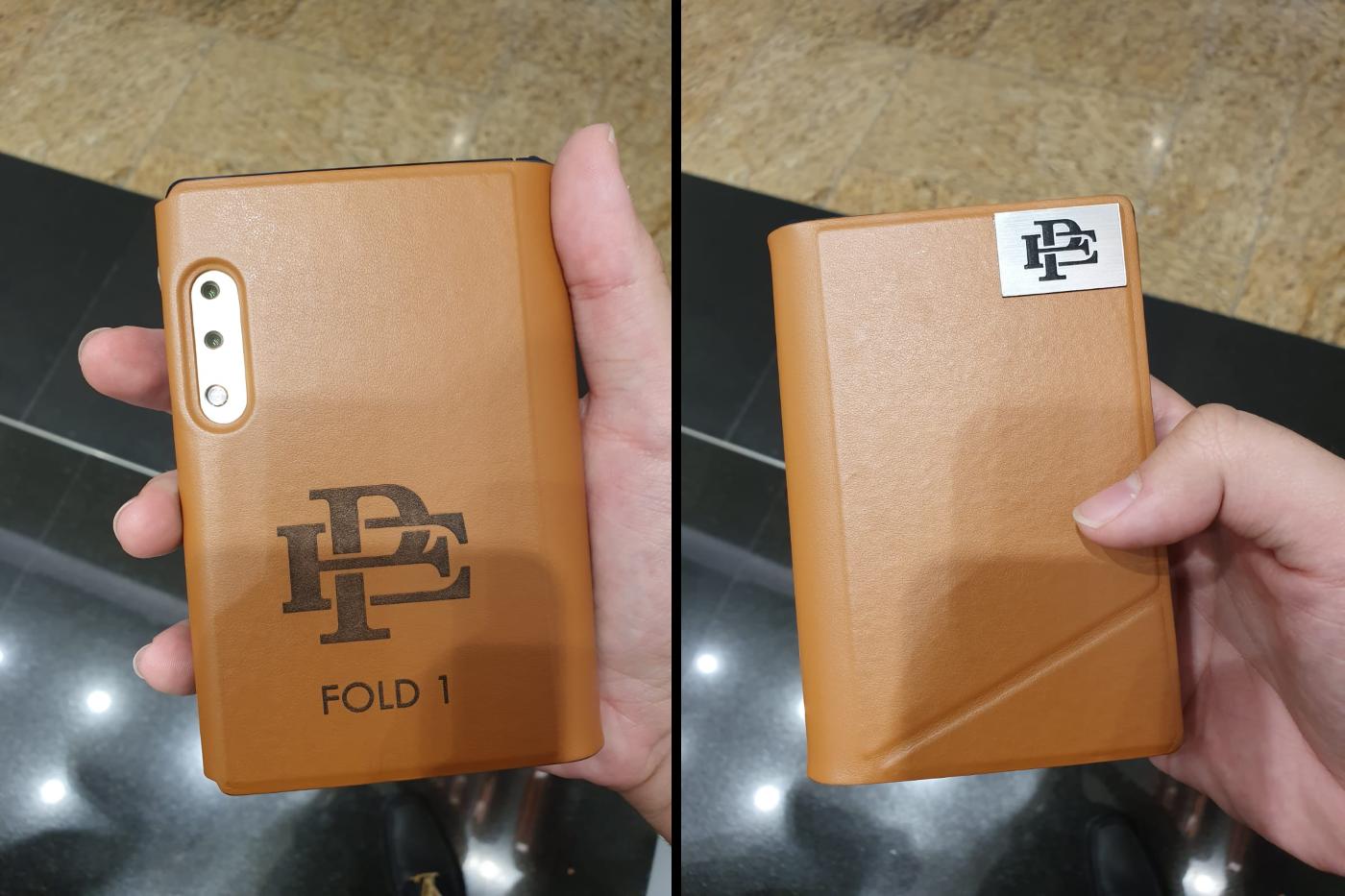 Escobar Fold 1 Foldable Phone - Outer Side & Dual Cameras