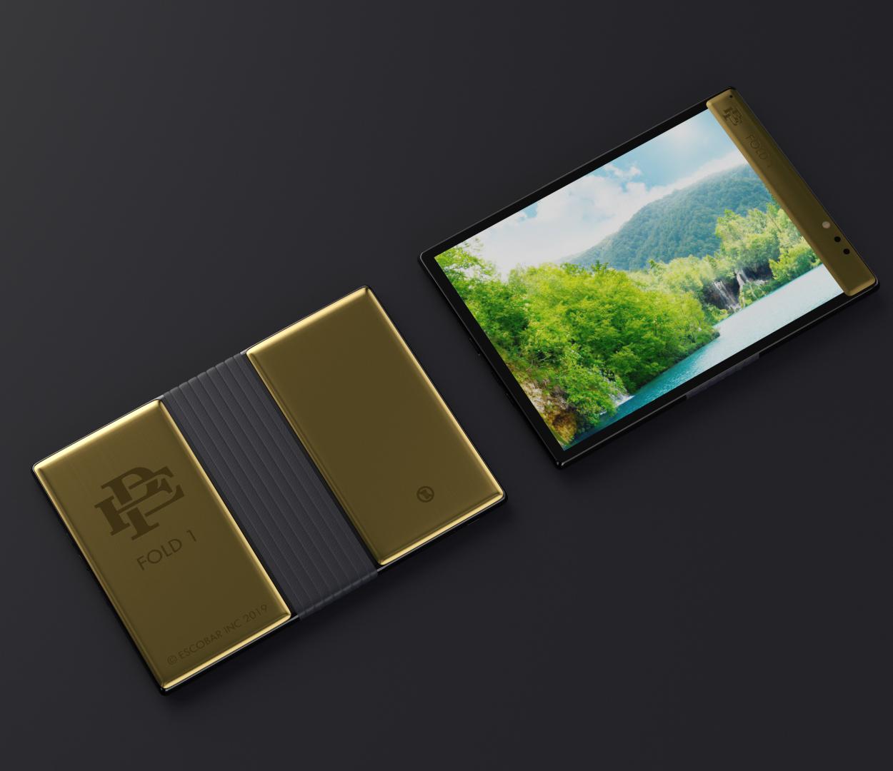 Escobar Fold 1 Foldable Phone