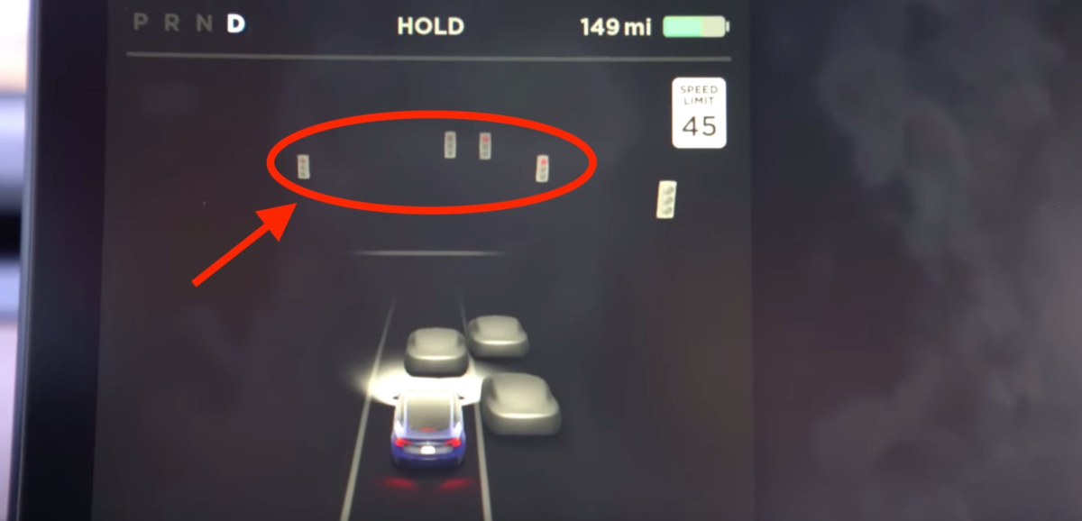Tesla Holiday Software Update - New Smart Road Object Markers