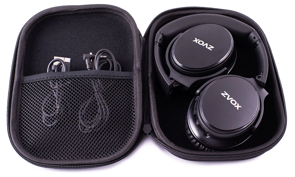 ZVOX AV50 Noise Cancelling Earbuds - Box Contents