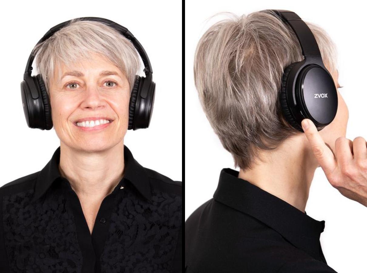 ZVOX AV50 Noise Cancelling Earbuds - Hands-Free Phone Calls