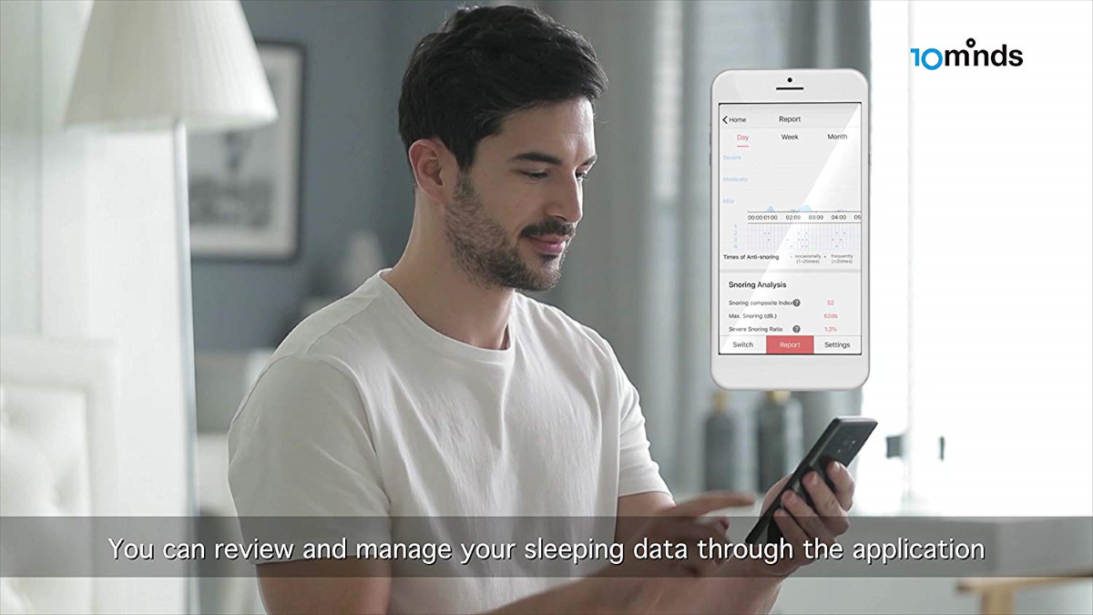 Motion Pillow Smartphone App