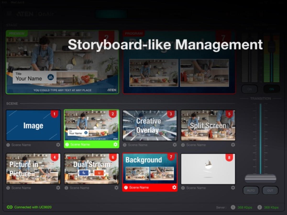 UC9020 - Storyboard-Like Management
