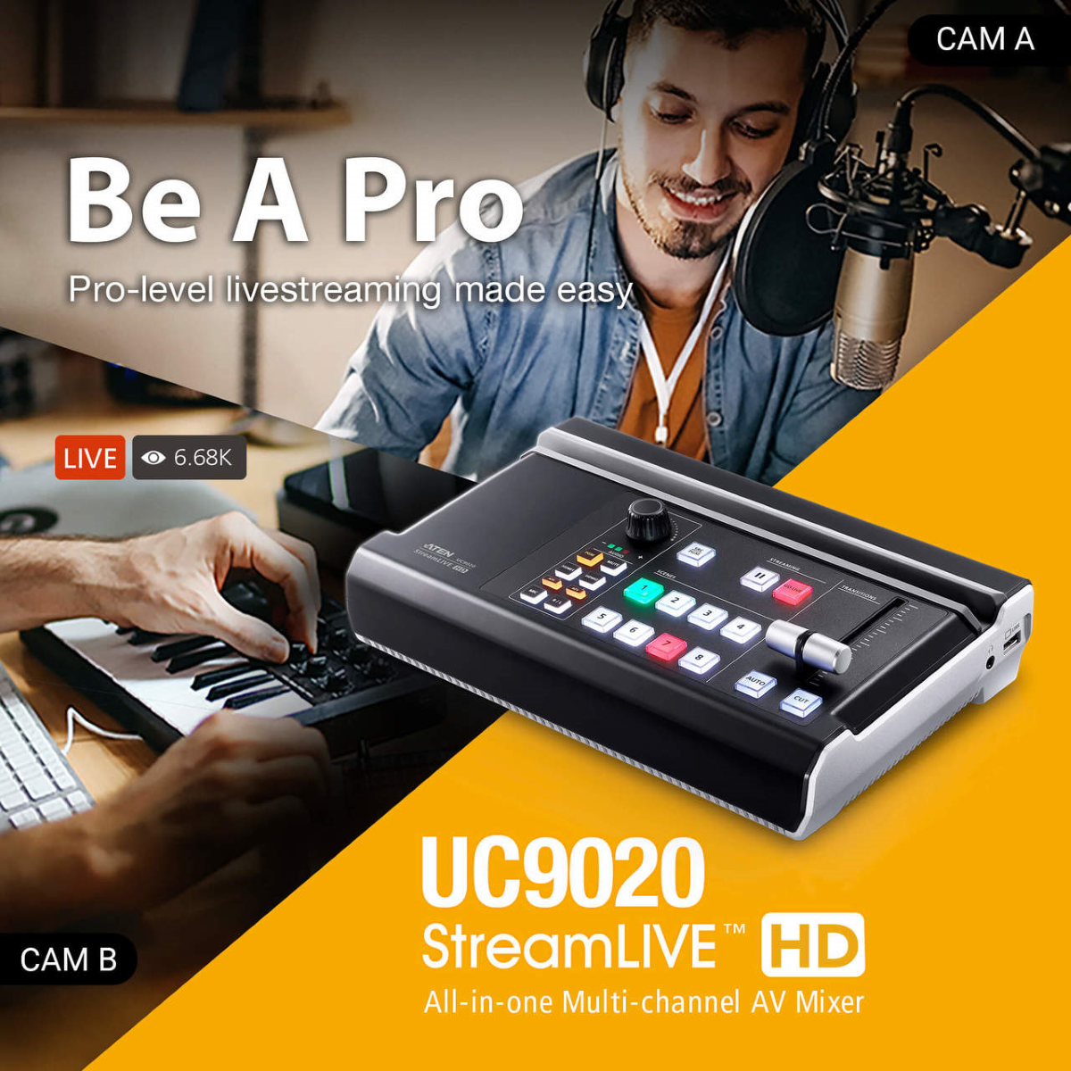 ATEN UC9020 StreamLIVE HD