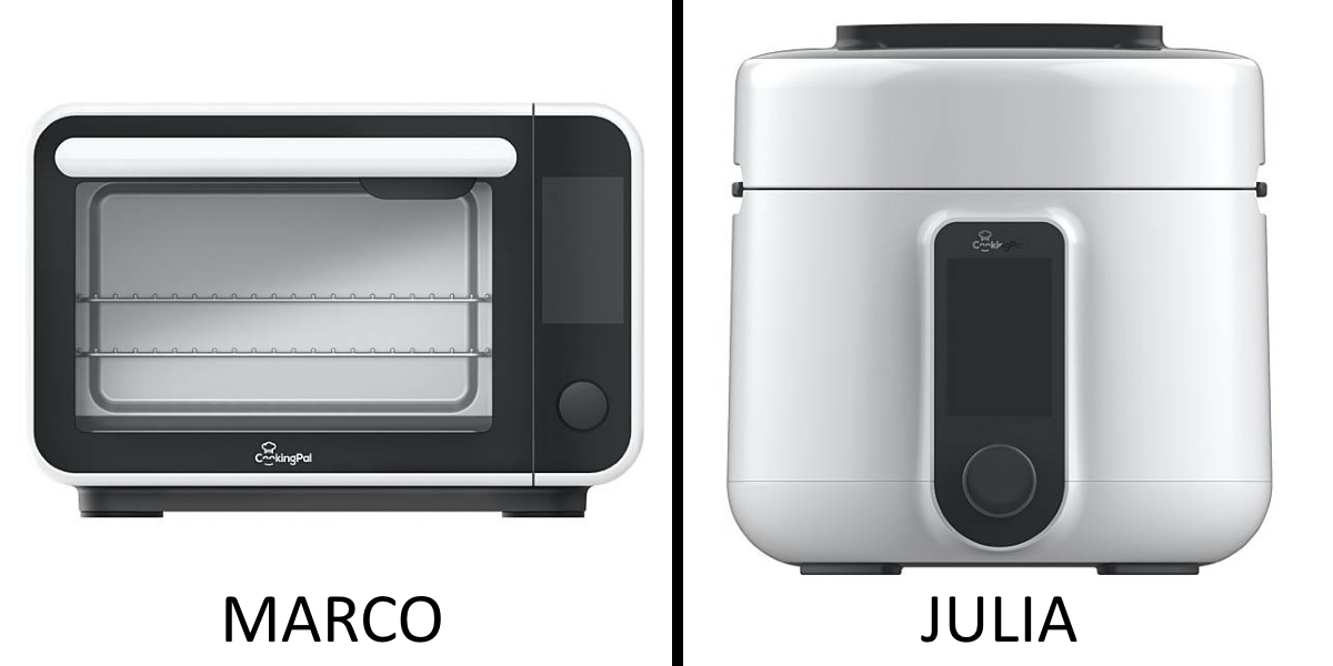 CookingPal Marco Smart Oven & Sophie Pressure Cooker