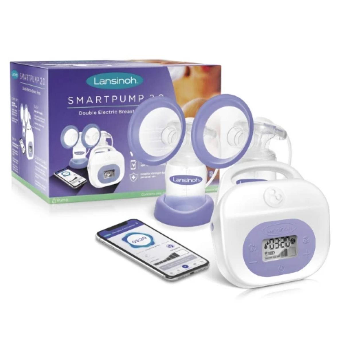 Lansinoh Smartpump 2.0's Package