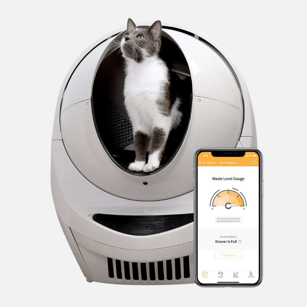 Litter-Robot 3 Connect - Drawer Full Indication