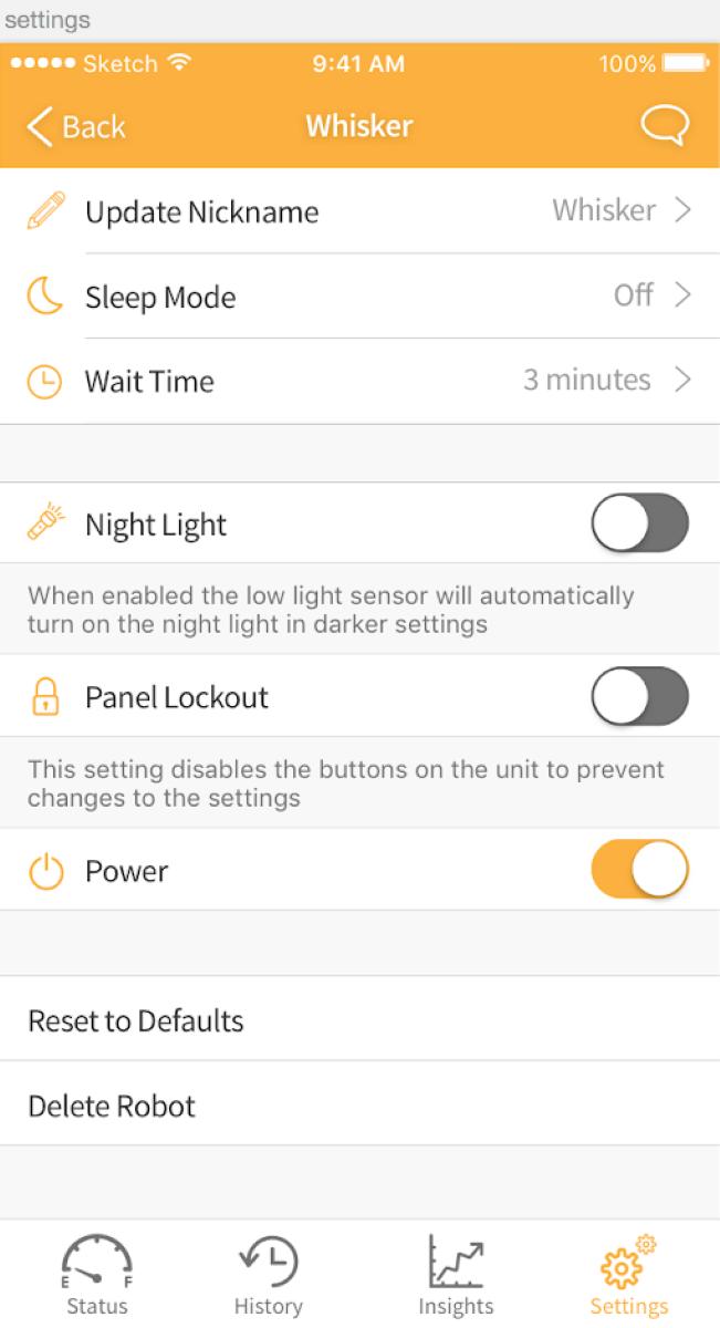 Control Panel - Panel Lockout