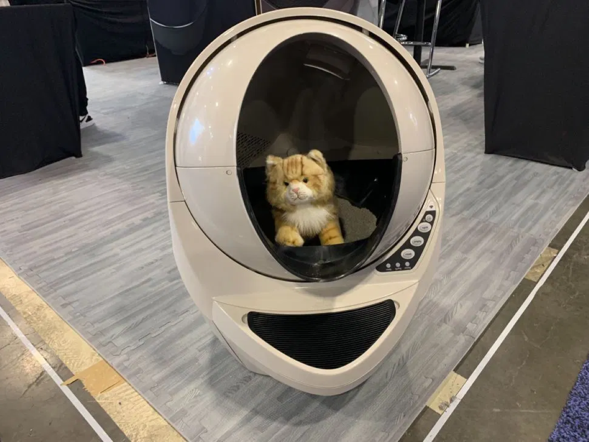 The Litter-Robot at CES 2020