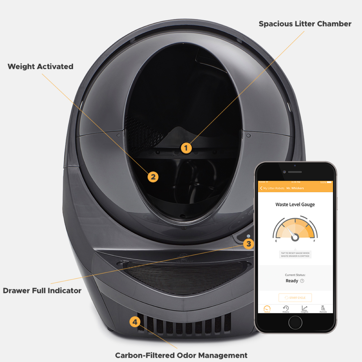 Litter-Robot 3 Connect - Smart Design