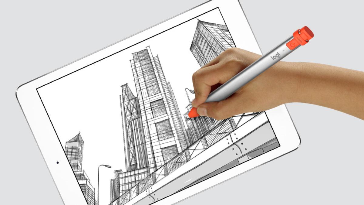 Logitech Crayon Bluetooth Digital Pen - Precisely on point. No delays.