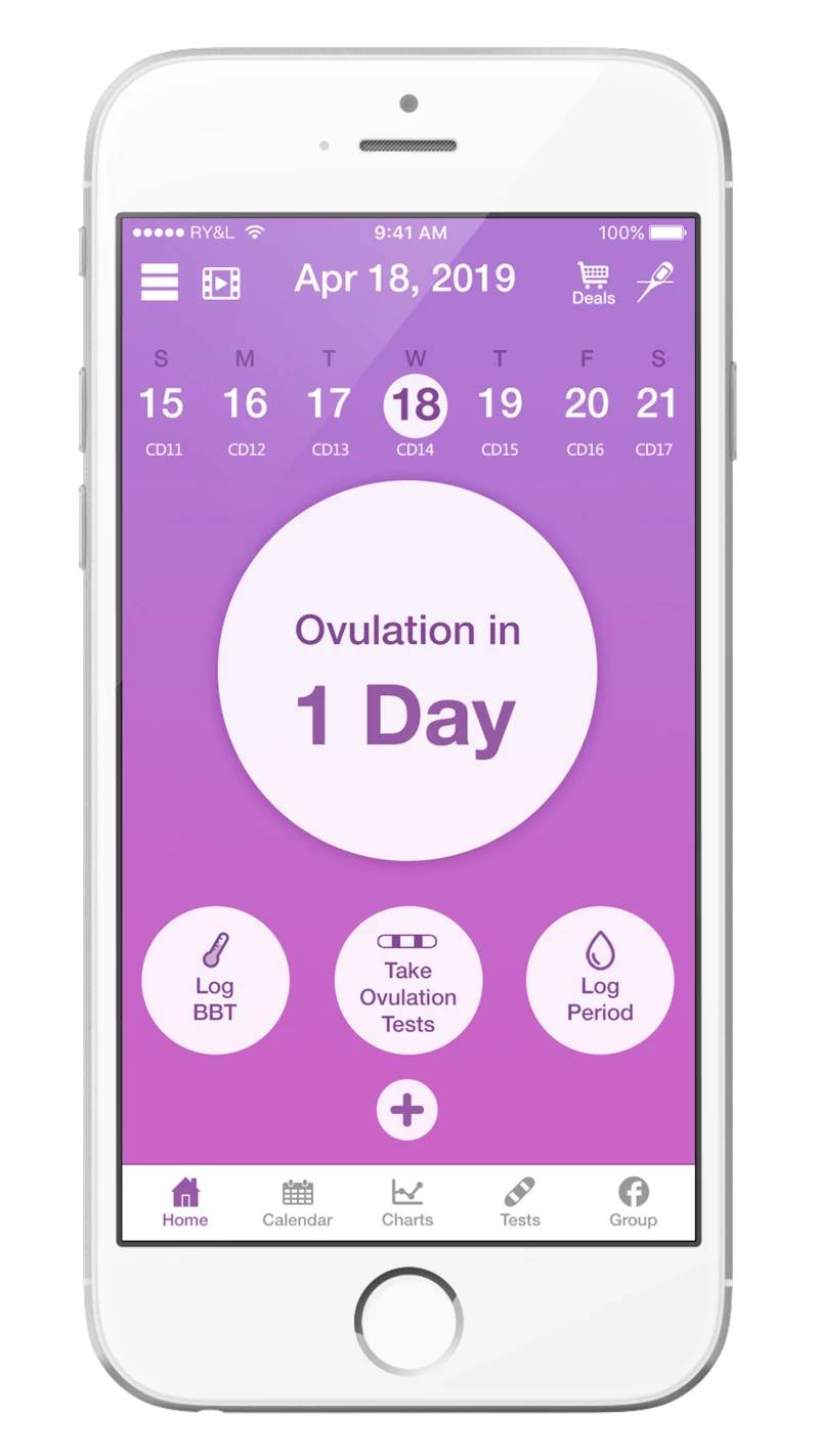 Premom App - Accurate Ovulation Calculator