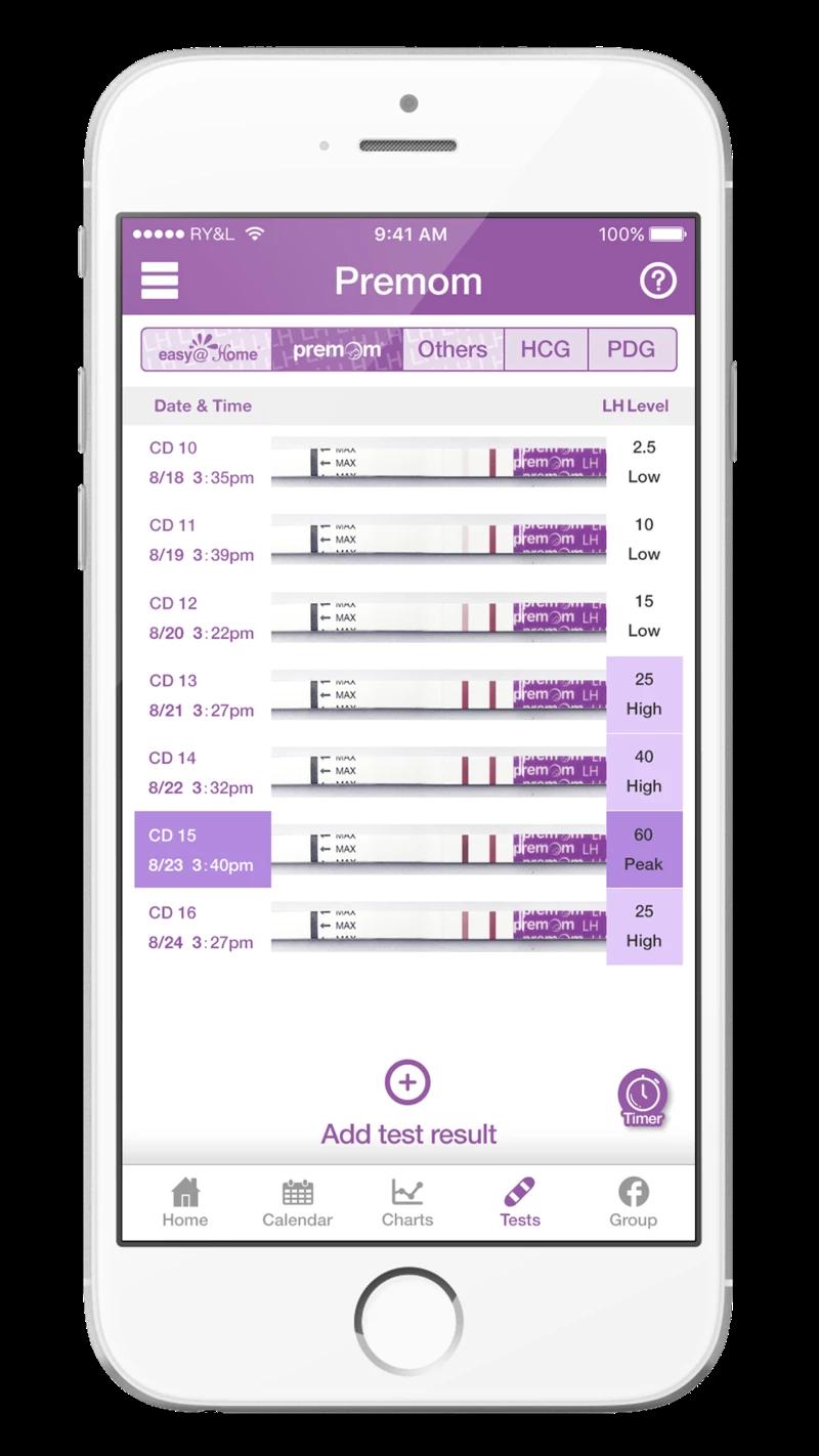 Premom App - Ovulation Tracker