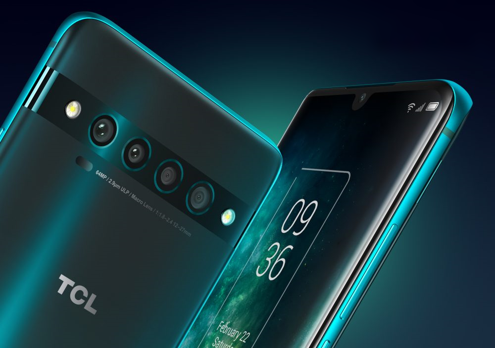 TCL 10 Pro - Quadruple-Camera Set-Up & Dual Flash Arrangement