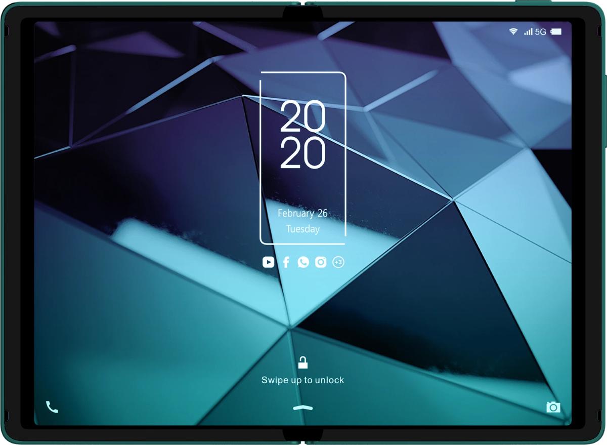 TCL - Foldable Smartphone Prototype (1)