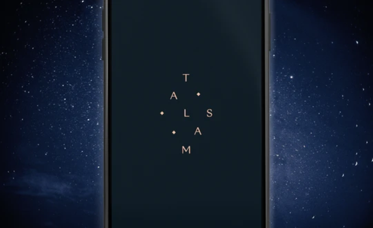Talsam App - Login Screen