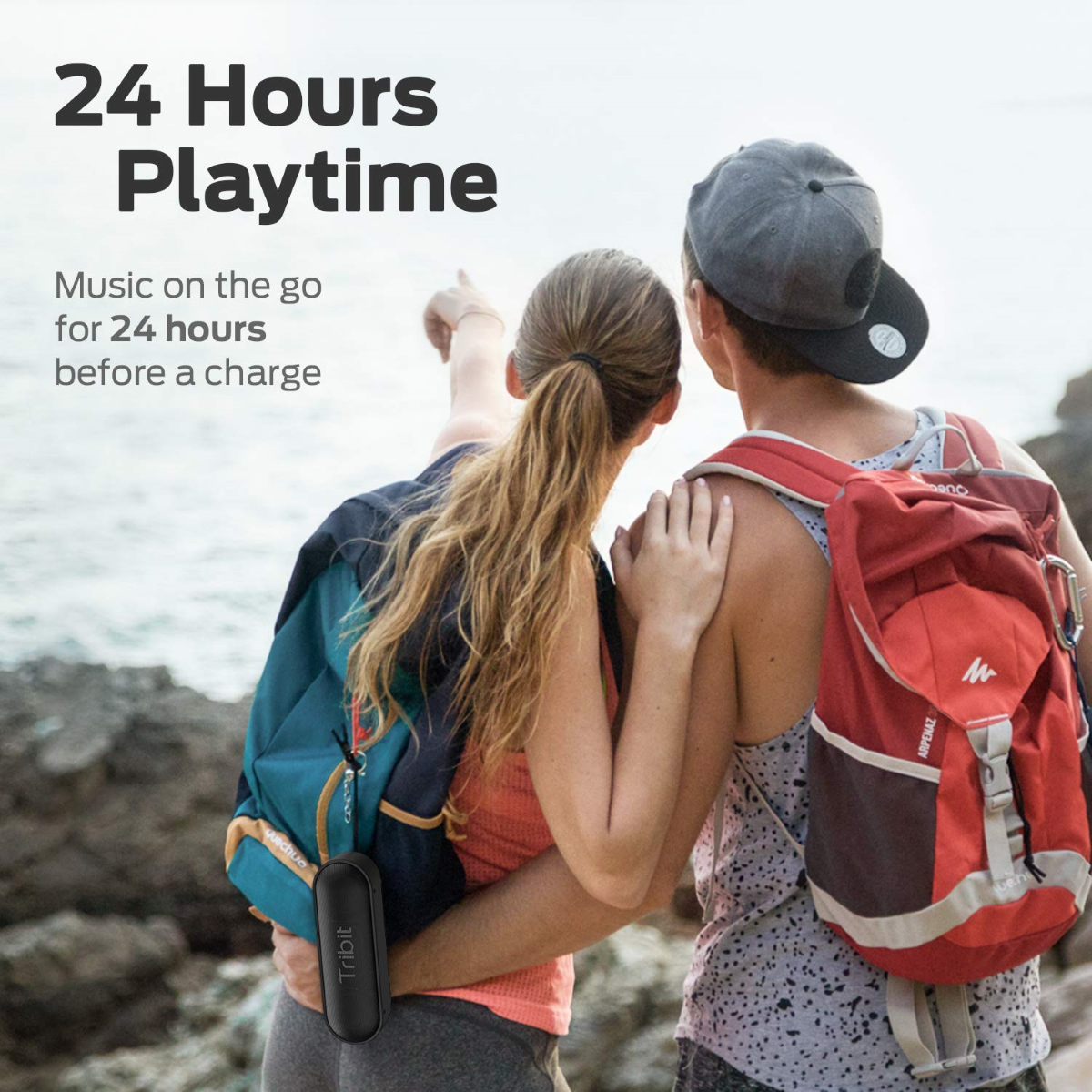 XSound Go - Battery Life - 24 hours of continuous playtime
