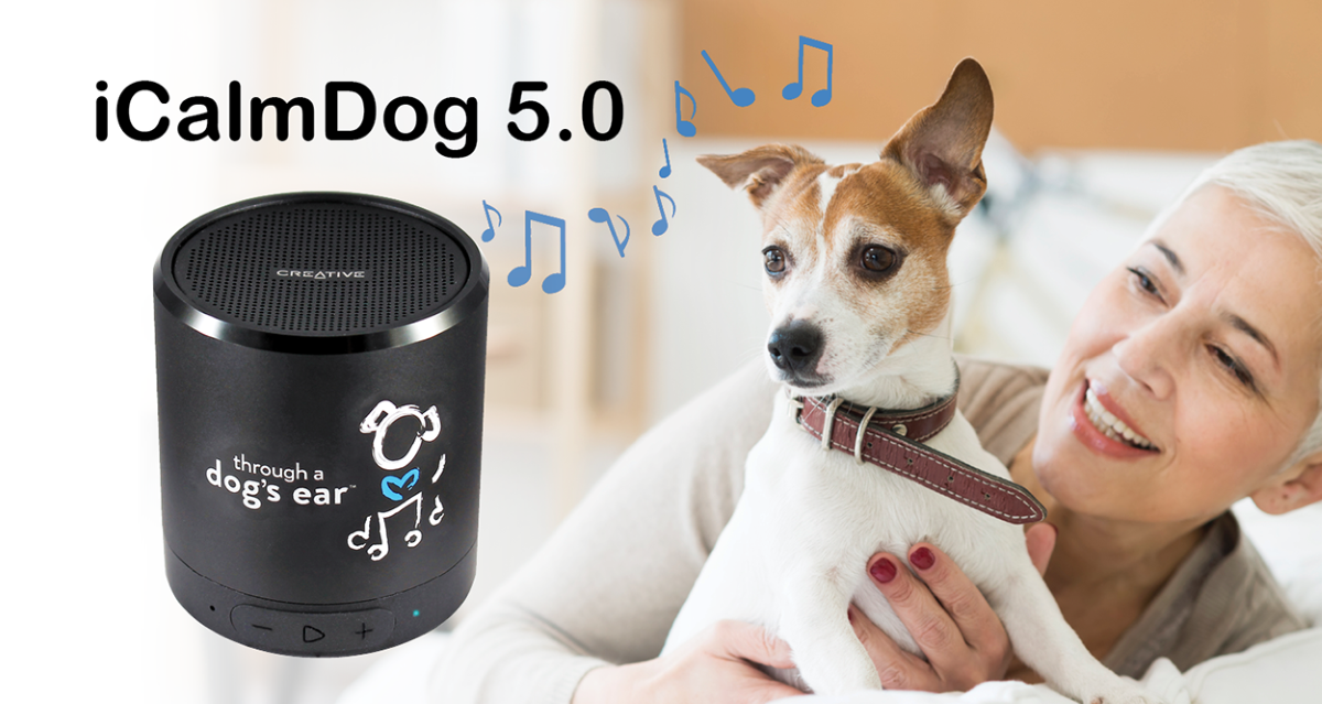 iCalmDog 5.0 Speaker (for dogs)